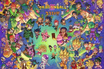Wallpaper Dragonball 21st Wallpaper, Dragon Ball