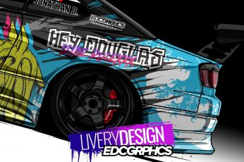 Wallpaper Edc Graphics, Nissan Silvia, Render, Japanese