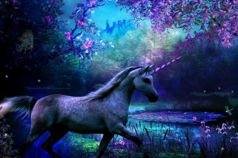 Wallpaper Fantasy Animals, Unicorn 1280x960px (720p)