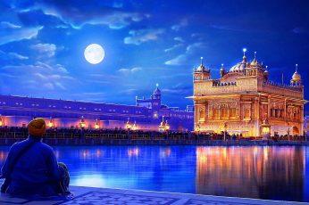 Wallpaper Golden Temple Harmandir Sahib