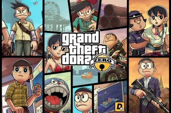 Wallpaper Grand Theft Dora Zero Wallpaper, Grand Theft Auto