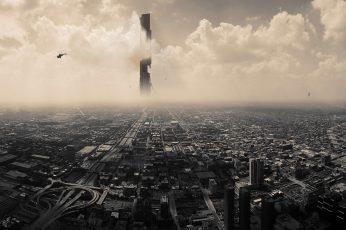 Wallpaper Half Life, Half Life 2, City 17, Citadel