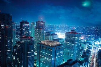 Wallpaper Of Tokyo, Japan Anime City, Tokyo Japan