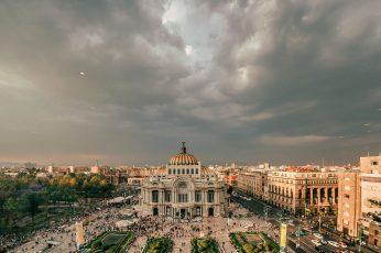 Wallpaper Mexico, Mexico City, Don Porfirio, Palacio