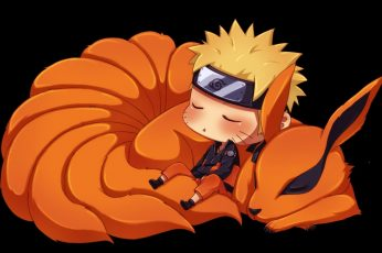 Wallpaper Naruto And Nine Tails Wallpaper, Fox, Anime,