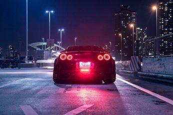 Wallpaper Nissan Gt R, Japanese Cars, Jdm, Night, City