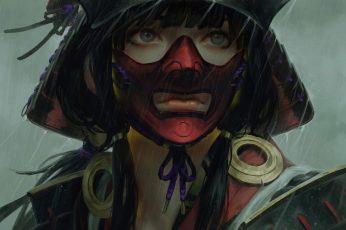 Wallpaper Original Characters, Anime Girls, 2d, Guweiz
