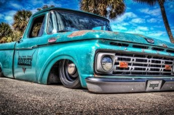 Wallpaper Pickup Truck, Vintage Car, Classic Car, Old Car