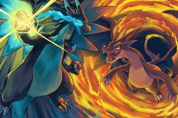 Wallpaper Pokemon Illustration, Pokémon, Charizard, Anime