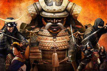 Wallpaper Samurai Digital Wallpaper, Japan, Japanese