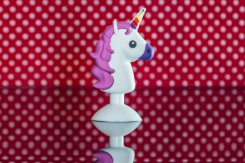 Wallpaper Snowman, Balls, Toy, Unicorn, Colors, Reflection