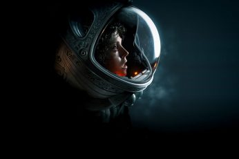 Wallpaper Space Suit, Ellen Ripley, Science Fiction