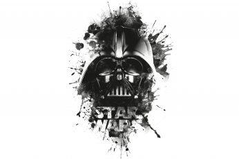 Wallpaper Star Wars Darth Vader Wallpaper, Logo, Black
