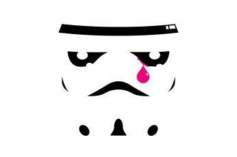 Wallpaper Star Wars Stormtrooper Tear, Star Wars