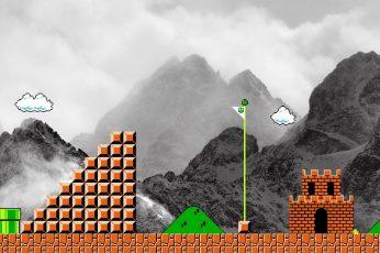Wallpaper Super Mario Game Application, Video Games
