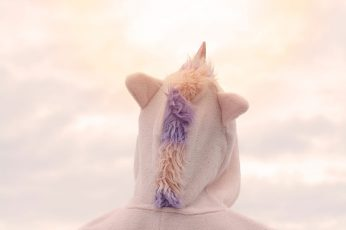 Wallpaper Unicorn, Sky, Costume, Dressed Up, Carnival