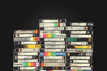 Wallpaper Vhs, Video Tape, Vintage, Polaroid