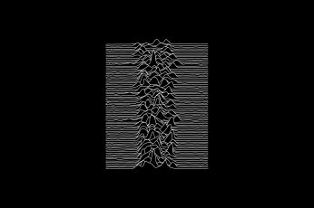Wallpaper White And Black Window Curtain, Joy Division