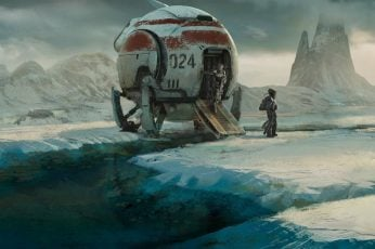 Wallpaper White And Red Spaceship Screenshot, Astronaut