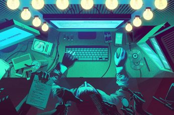 Wallpaper Anarchy, Computer, Hack, Hacker, Hacking