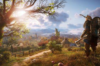Wallpaper Assassin's Creed Valhalla, Video Games
