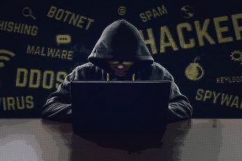 Wallpaper Black Laptop Computer, Hacking, Hackers, Anonymous