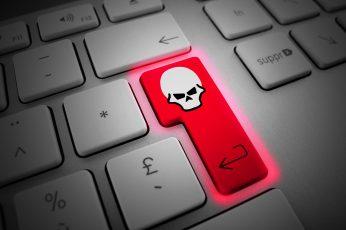 Wallpaper Enter, Skull, Hacker, Hacking, Computer, Hd, 4k