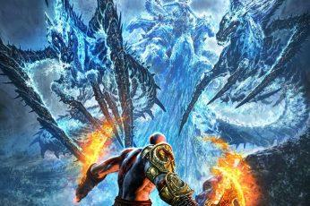 Wallpaper God Of War Kratos, Video Games, Artwork