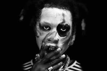 Wallpaper Grayscale Photo Of Man, Denzel Curry, Music
