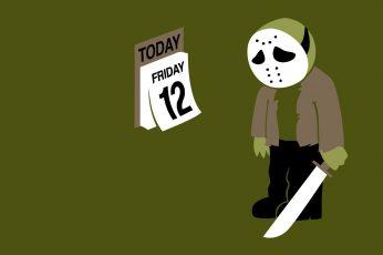 Wallpaper Humor Funny Jason Friday The 13th Calendar