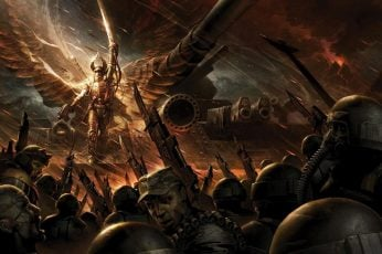 Wallpaper Imperial Guard Warhammer 40,000, Warhammer