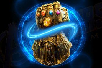 Wallpaper Infinity Gauntlet, Avengers Endgame, Marvel