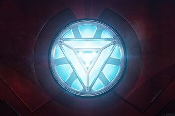 Wallpaper Iron Man Arc Reactor Marvel Hd, Movies