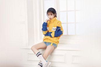 Wallpaper Iu, Korean, Singer, Girl, Kpop, Child