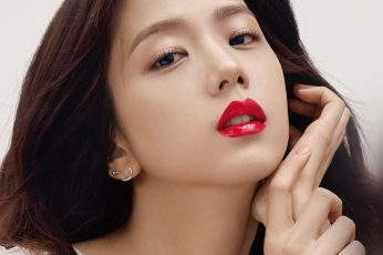 Wallpaper Kpop, Blackpink, Girl, Red, Lips, Beauty