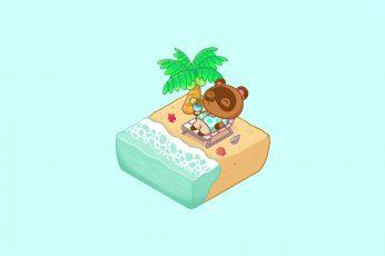 Wallpaper Lofi, Animal Crossing, Chill out