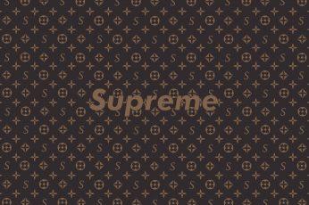 Wallpaper Louis Vuitton, Supreme, Text, Backgrounds