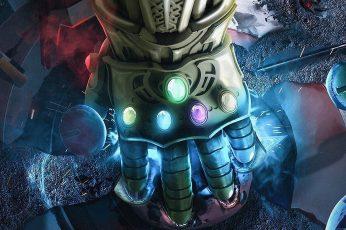 Wallpaper Marvel Cinematic Universe, Marvel Comics, Thanos