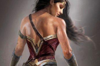 Wallpaper Marvel Comics, Wonder Woman, 8k, Gal Gadot, 4k