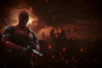 Wallpaper Marvel Dead pool Digital Wallpaper, Marvel Heroes