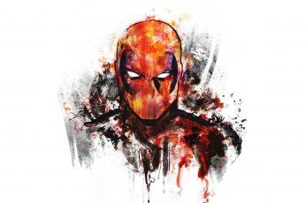 Wallpaper Marvel Deadpool Illustration, Digital Art