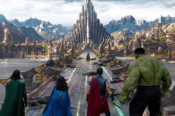 Wallpaper Marvel's Thor Ragnarok Movie Still, Marvel