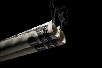 Wallpaper Money, Swag, Cigarette, Dollar, Cash, Black