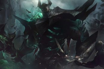 Wallpaper Mordekaiser, League Of Legends, Video Game