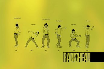 Wallpaper Music Funny Radiohead 1440×900 Entertainment