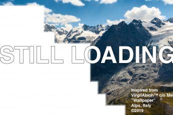 Wallpaper Off White, Mountains, Italy, Alps, Text