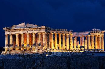 Wallpaper Parthenon, Greece, Athens, Acropolis, Architecture
