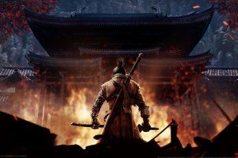 Wallpaper Sekiro Shadows Die Twice, Samurai, Video Games
