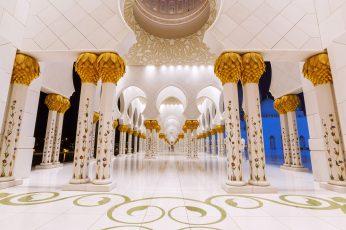 Wallpaper Sheikh Zayed Mosque, Sheikh Zayed Grand Mosque