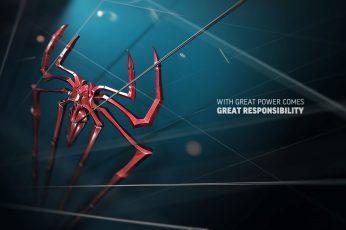 Wallpaper Spider Man Wallpaper, Quote, Marvel Comics